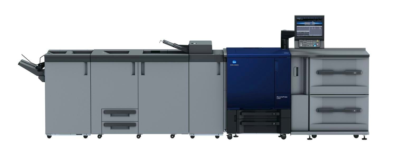 Konica Minolta accurio press c3080p produksjonsprinter